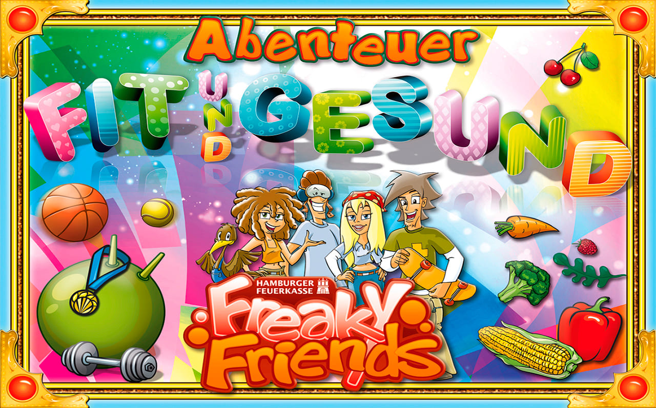 Freaky-Friends-Hefte