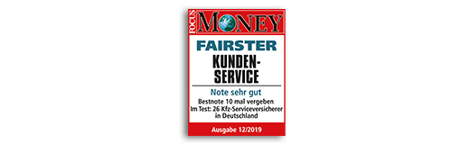Focus Money Fairster Kundenservice KFZ